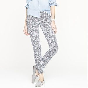 J Crew Liberty of London June's Meadow Ankle Pant